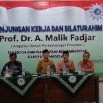 Abdul Malik Fadjar Kunjungi Kantor Muhammadiyah Kabupaten Magelang