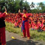 Tapak Suci Kab Magelang Latih Fisik dan Mental Siswa Dengan Long March