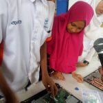 Kompetensi Axioo clas program dan safety checking Visit SMK Muhammadiyah 1 Muntilan