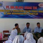Perusahaan Tekstil Terbesar Asia Tenggara Rekrut Siswa SMK Muhammadiyah 2 Muntilan