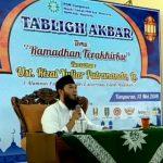 Tabligh Akbar Menyambut Ramadhan