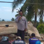 Kisah Relawan MDMC Berjuang Dirikan Sholat Jum'at di Lokasi Gempa Lombok