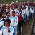 Warga Muhammadiyah Kabupaten Magelang Ikuti Jalan Sehat