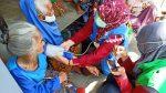 Pengungsi Gunung Merapi Jalani Cek kesehatan Hingga Trauma Healing