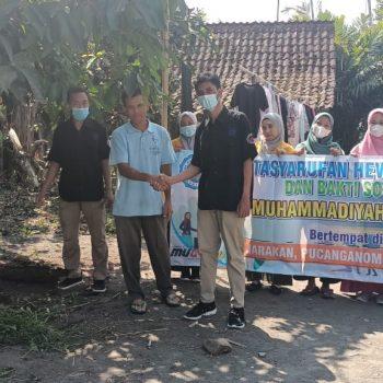 Selain Bakti Sosial, SMK Muhammadiyah 2 Muntilan Tasyarufkan Hewan Kurban